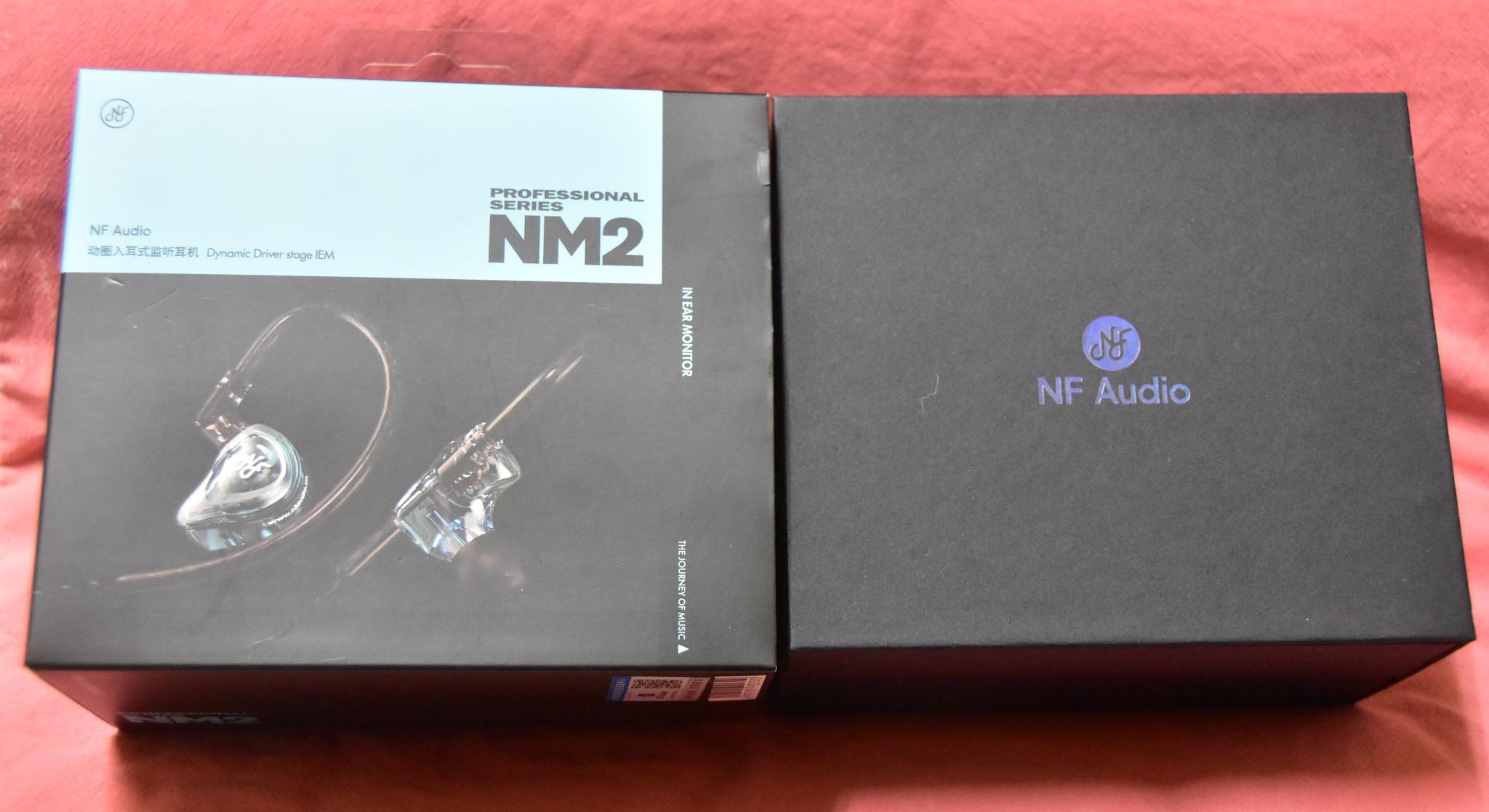 [心得] NF Audio NM2:高CP、小清新的監聽耳道