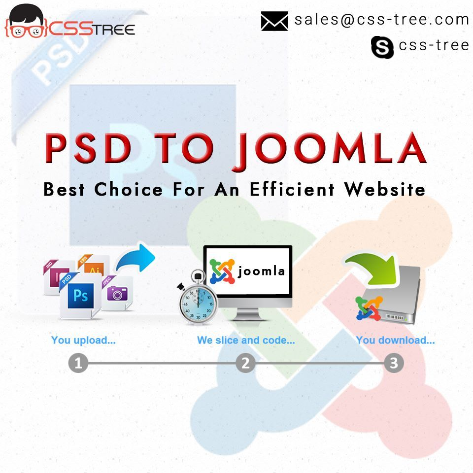 CSSTree - Are you looking to convert PSD to Joomla? CSS Tree is a