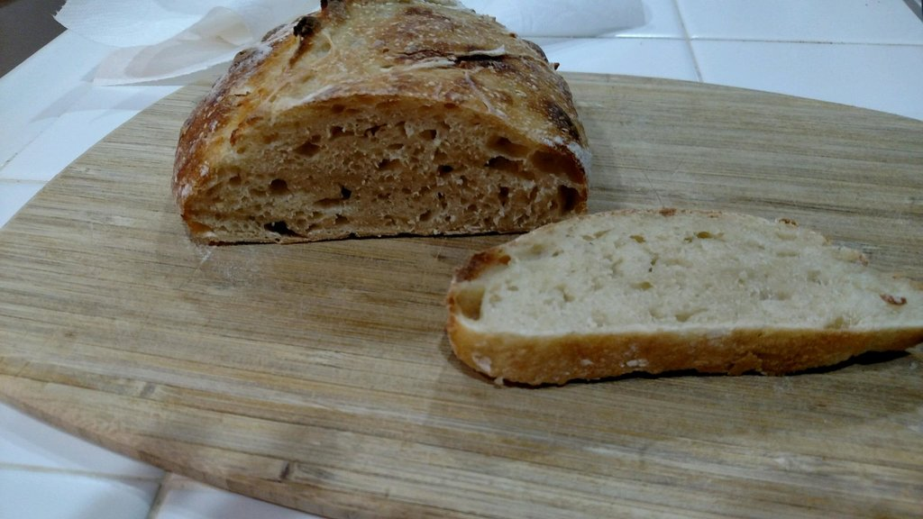 123 Sourdough No Knead Do Nothing Bread The Fresh Loaf