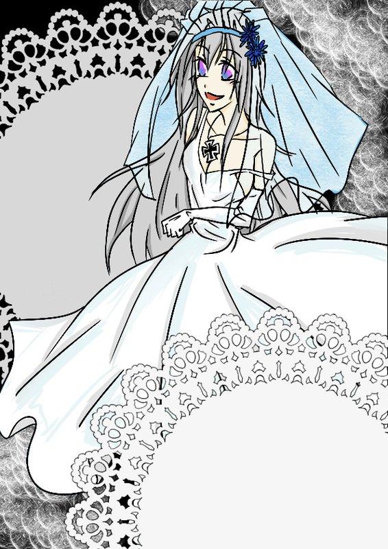 白色新娘:茱莉亞(基爾性轉)-單純自信