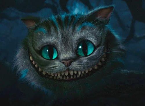 爱丽丝梦游仙境 疯帽子 柴郡猫 柴郡猫壁纸 - 卡通壁纸下载 高清图片
