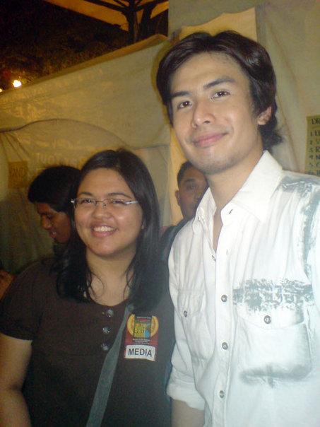 Aeirin with Christian Bautista