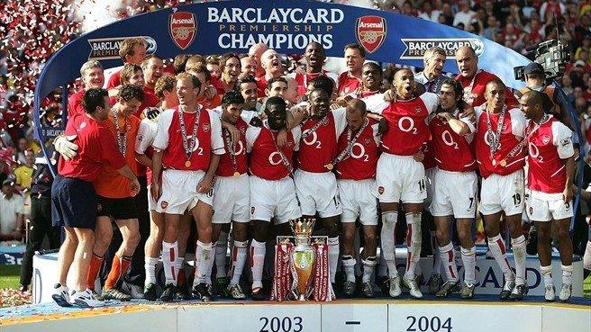 Juara Liga Inggris Tahun 2003-2004