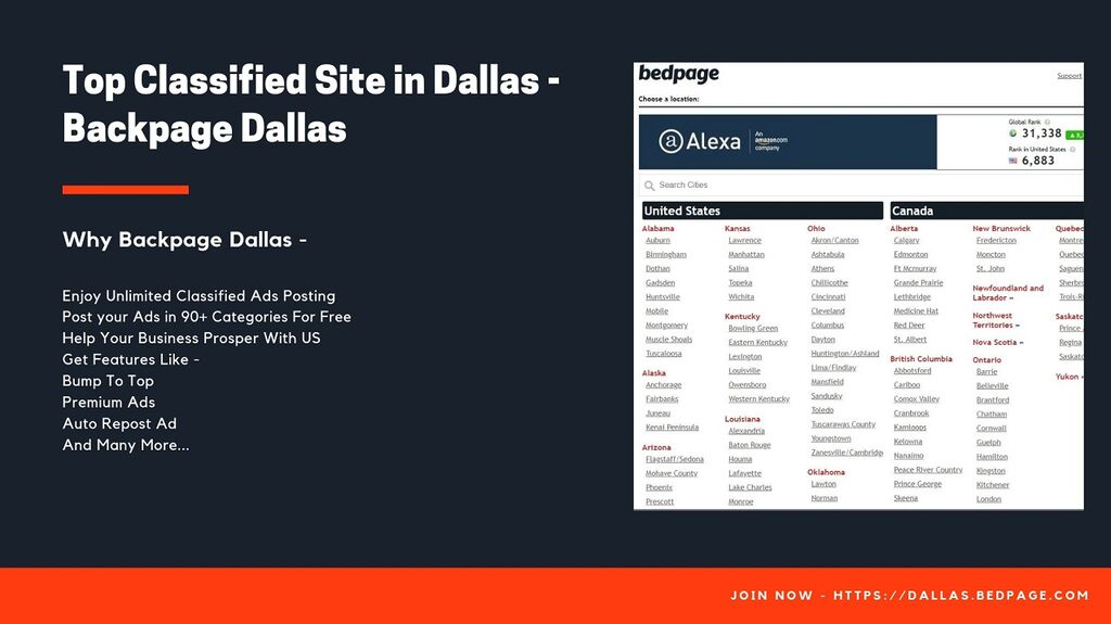 robe321 - Top Classified Sites in Dallashttp://Bedpage com is one of