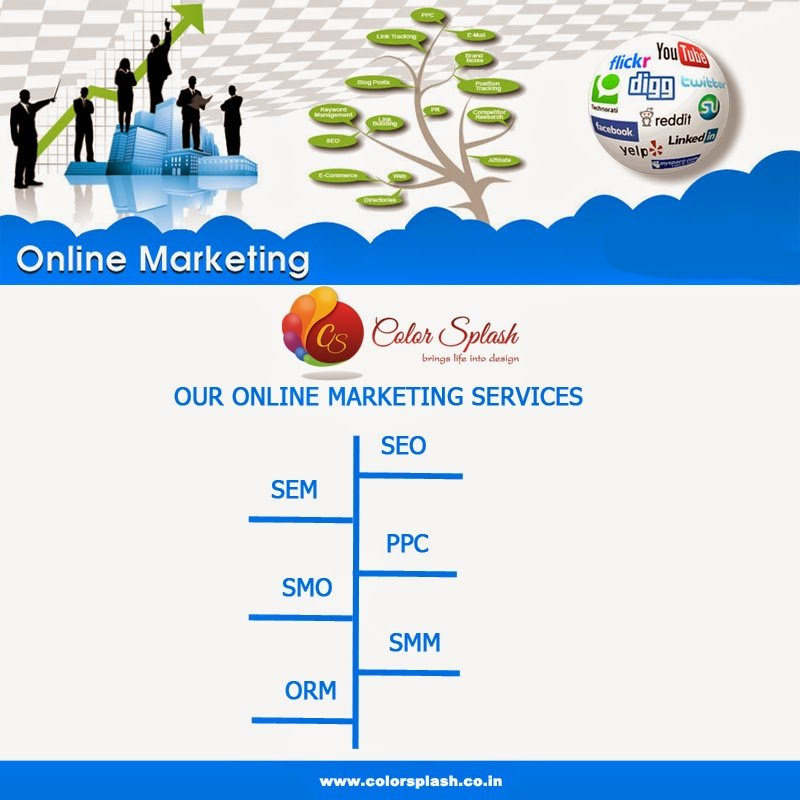 Color Splash - SEO SMO and Responsive Website Designing and Web