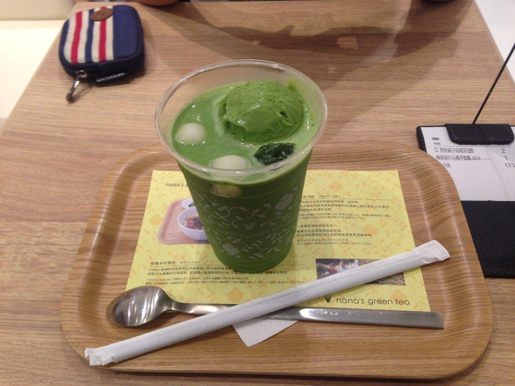 推薦台北 抹茶拿鐵 抹茶館 Nana's green tea