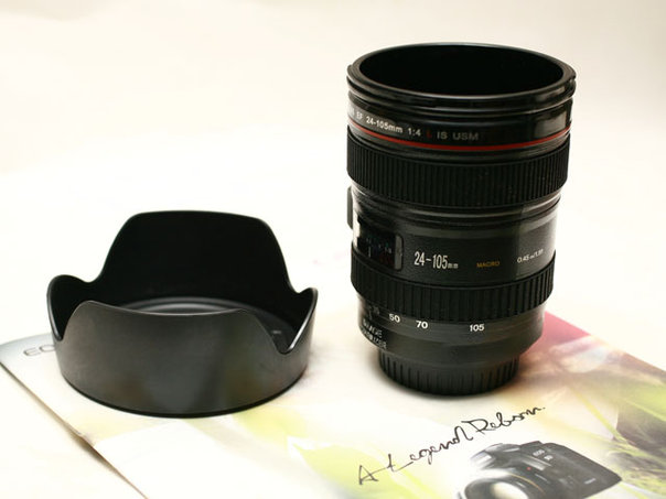 Wts Canon 24 105mm Model Coffee Cup Mug With Lens Cap