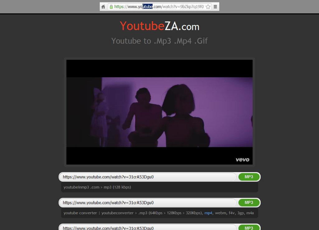 bajar videos de youtube mp4 y mp3