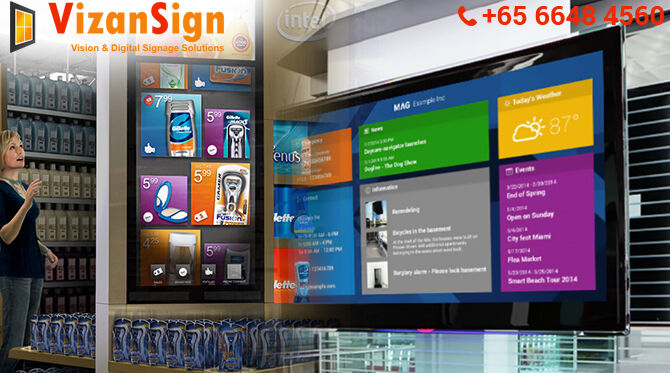 Vizan Sign is Fabulous Cloud Based Digital Signage Just For