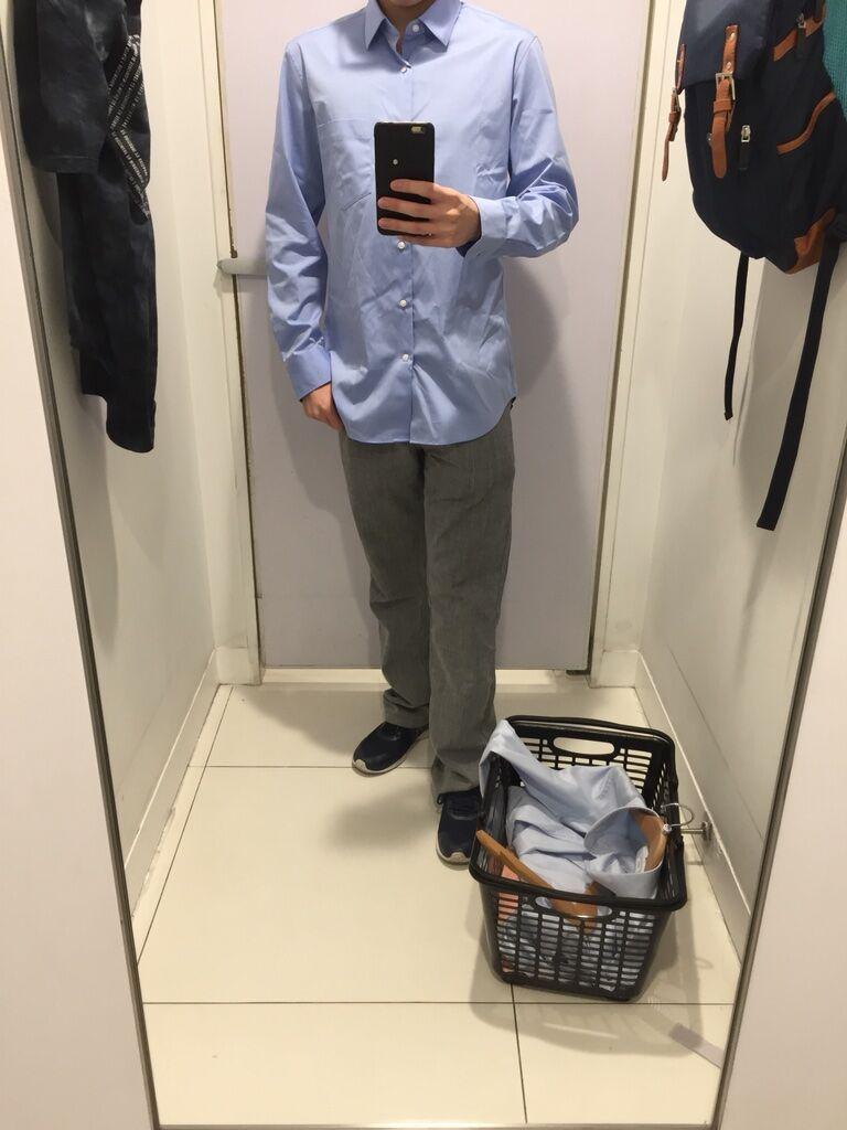 浪雨Ron [日常]本來想去物色見工面試的襯衫和西裝褲,但去的uniqlo分店 ...