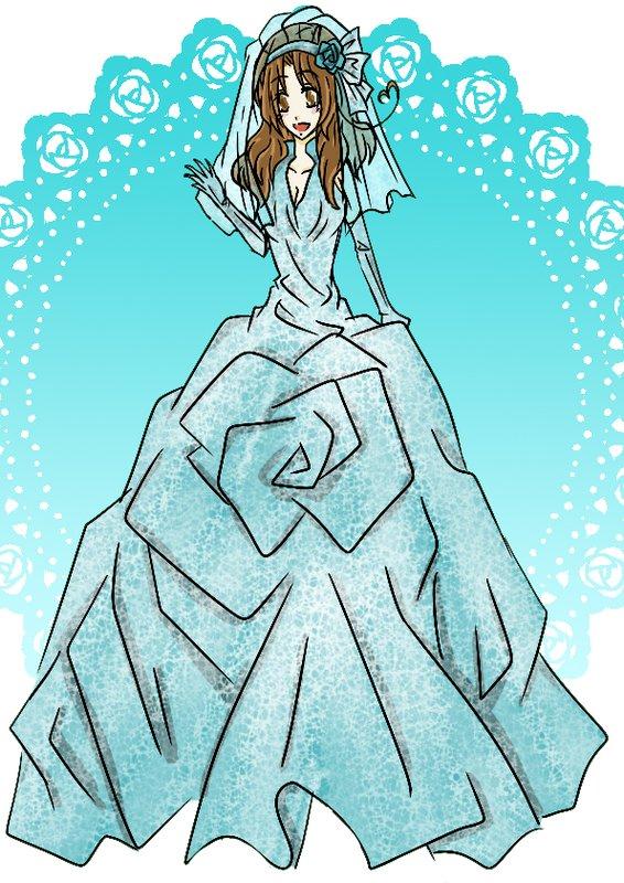 藍色新娘:菲歐娜(義呆性轉)-天真純潔