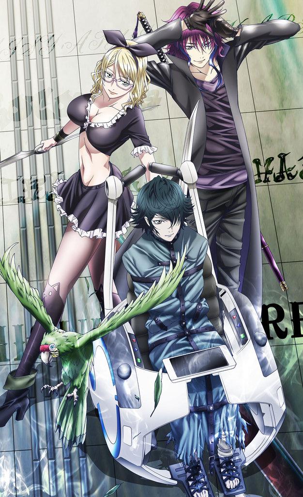 Anime K Projekt Der Grüne König  Anime  Pinterest