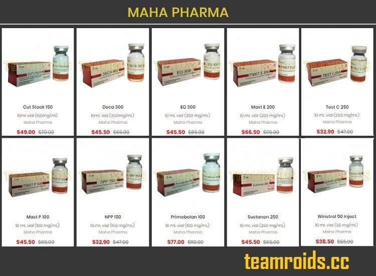 teamroids - Why Buy Maha Pharma Steroids Online for