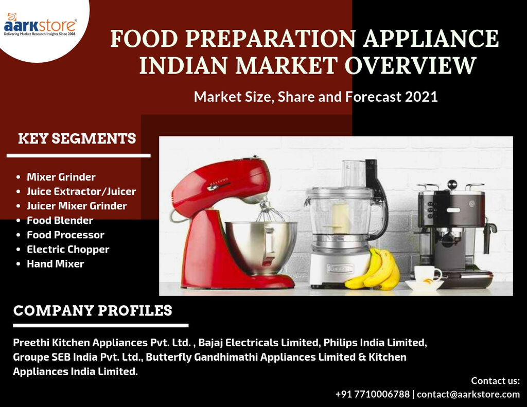 Aarkstoreresearch Is Food Preparation Appliance Market Share