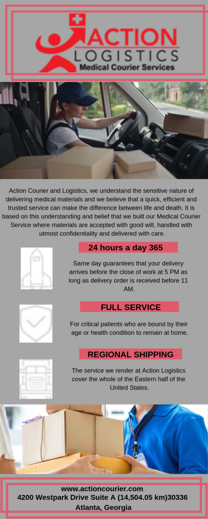 MedicalCourier is Medical Courier Services Norfolk - 24/7