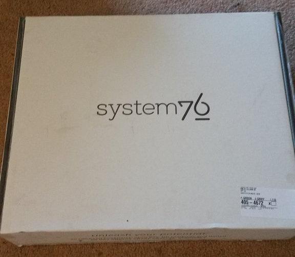 System76 box