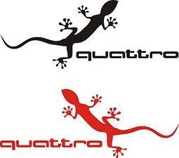 H3 Design 分享 Audi Quattro Logo 727n6k Plurk