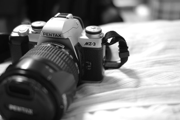 K-x 黑白照
