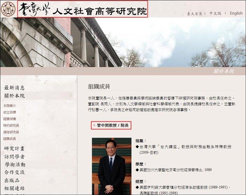 台大包庇管中閔違法兼職「台灣大」獨董?