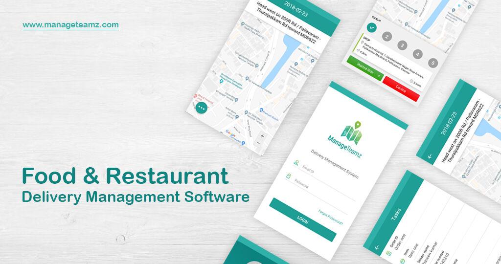ManageTeamz is Food & Restaurant #DeliverySoftware solution