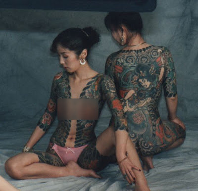 Irezume Seni Tradisional Tattoo Jepang