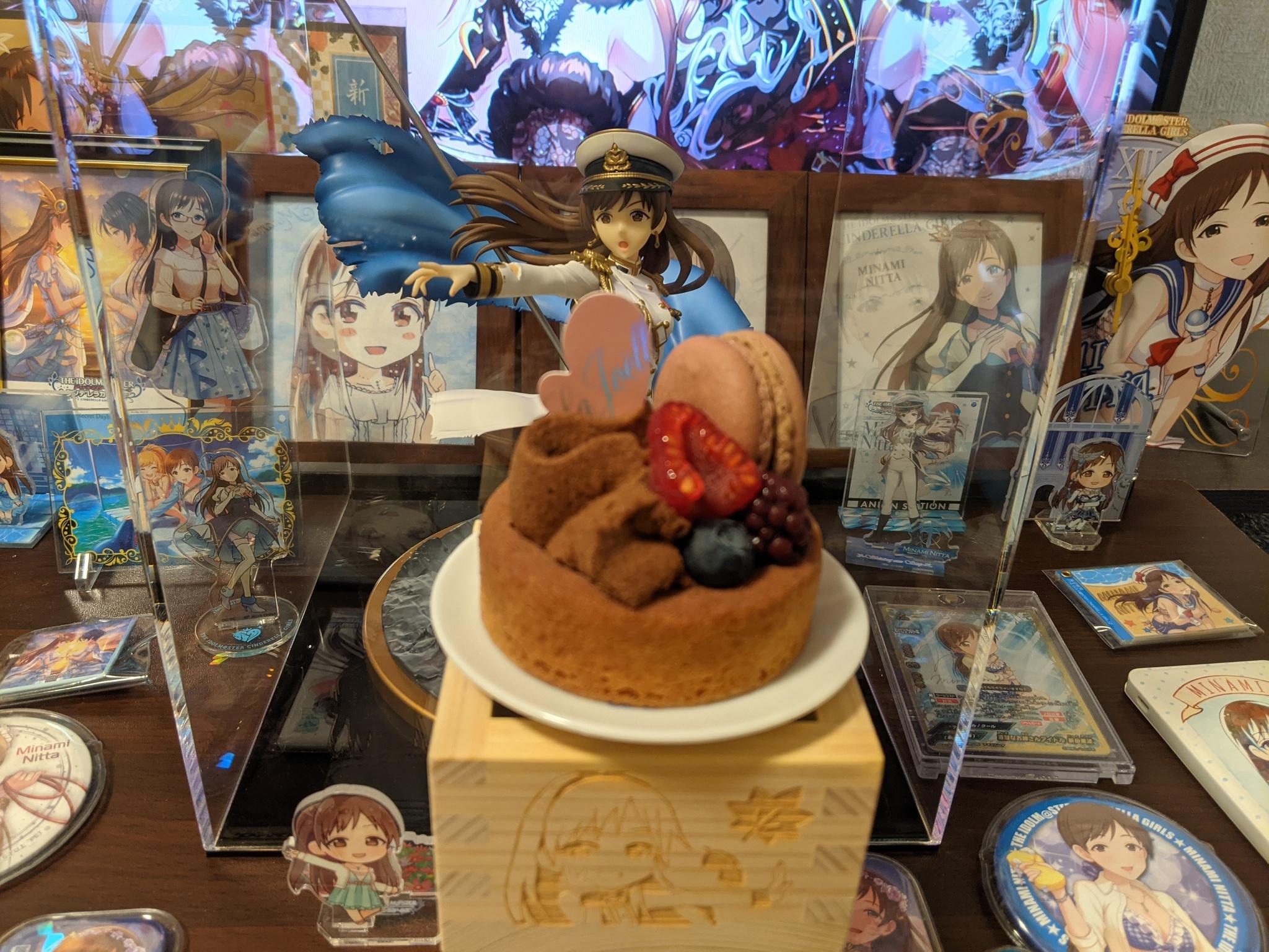 [CG] 7/27 是新田美波的生日