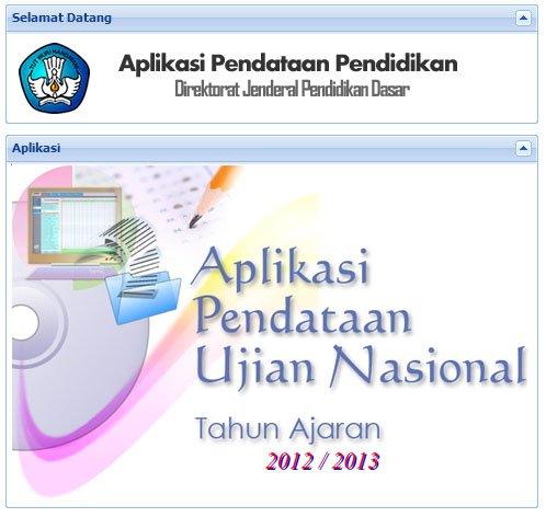 Cara Import data Dapodik Ke Aplikasi Pendataan Ujian Nasional