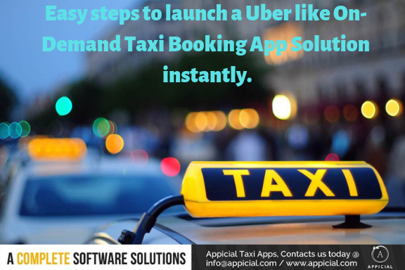 appicial - We rebrand taxi app solution through design and
