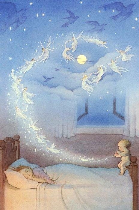 Тема сон в картинках