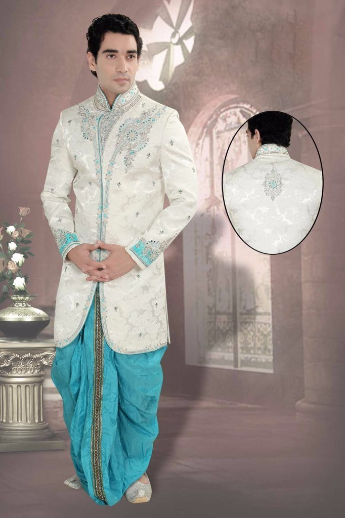 9dded0840ca3 Buy Designer Traditional Jodhpuri Suit online for Men in India. Shop for  latest collection stylish Bandhgala wedding suits for groom.