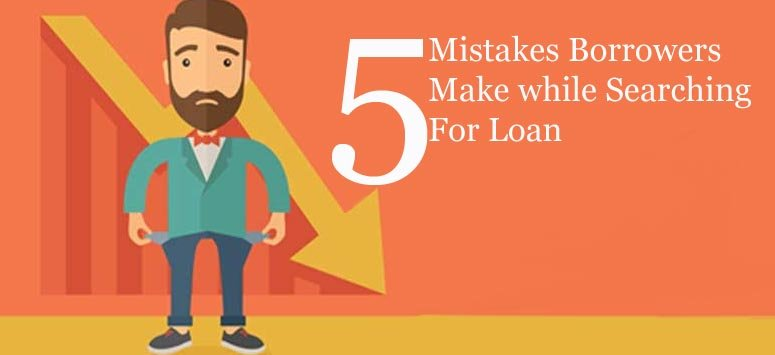 5 Mistakes Borrowers Make while Searching Quick Loans for Bad Credit