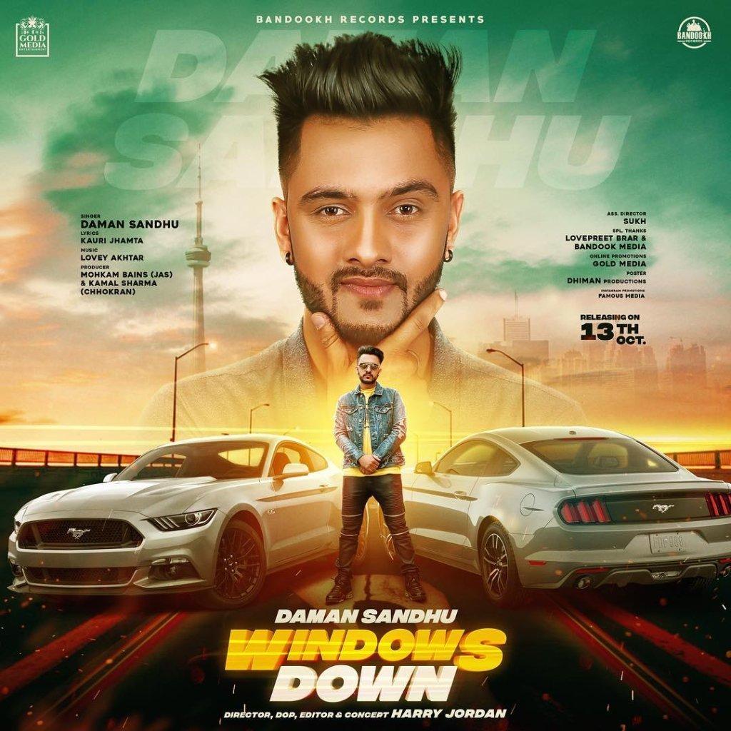 mrjattt - Windows Down - Daman Sandhu - MrJatt Latest