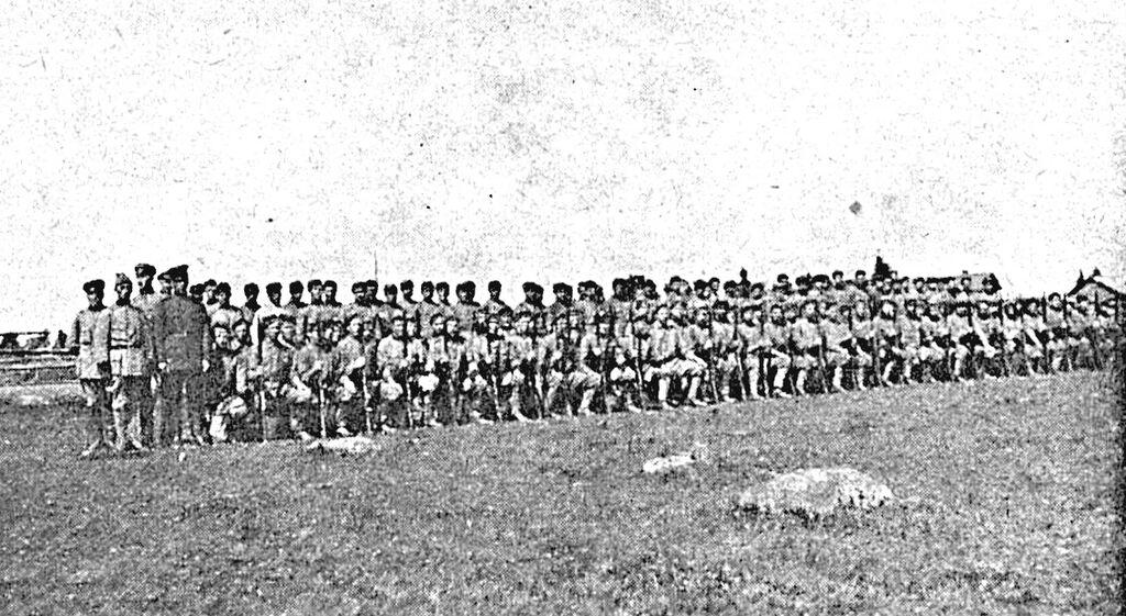 Inkeriläistä jalkaväkeä 1919.