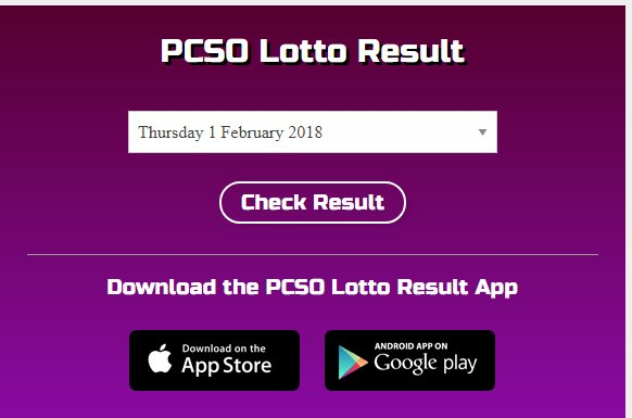 pollymerrry - Lotto Warrior check draw number Philippine PCSO lotto