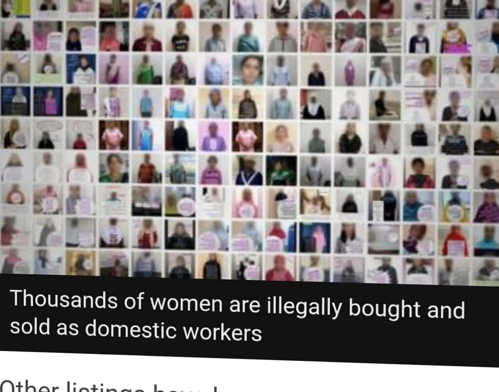 BBC Undercover Journalists Find Apps Used By Arabs To Buy African Slaves 2