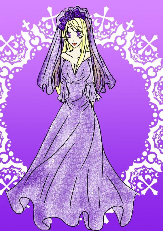 紫色新娘:安亞(伊凡性轉)-神秘艷麗