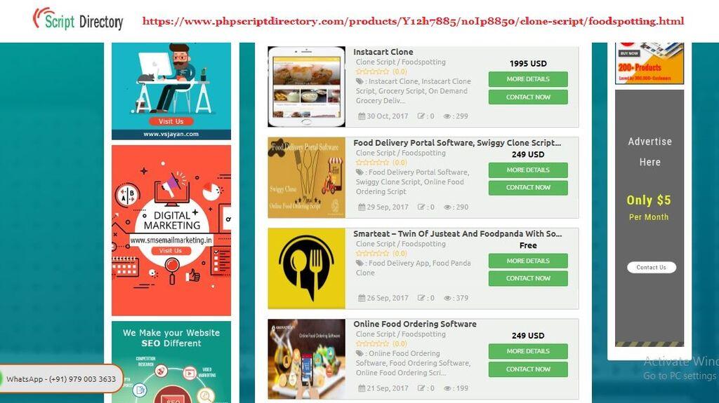 inetfreelancer - We are offering online food ordering script &
