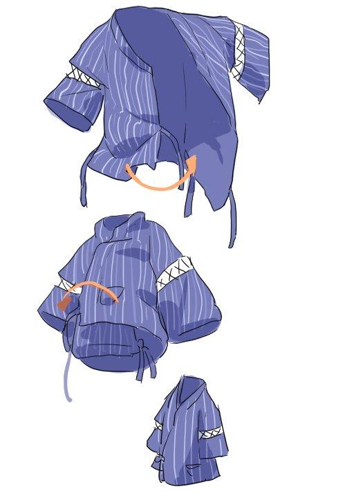 小知識] 甚平的穿法是下擺左右各打一個結,跟浴衣 ...