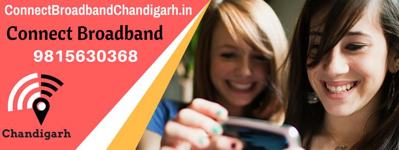 Connect Broadband Chandigarh Mohali Panchkula WiFi connection service