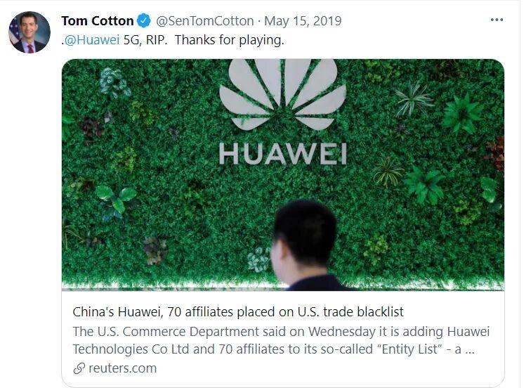 Gowans Huawei 2019