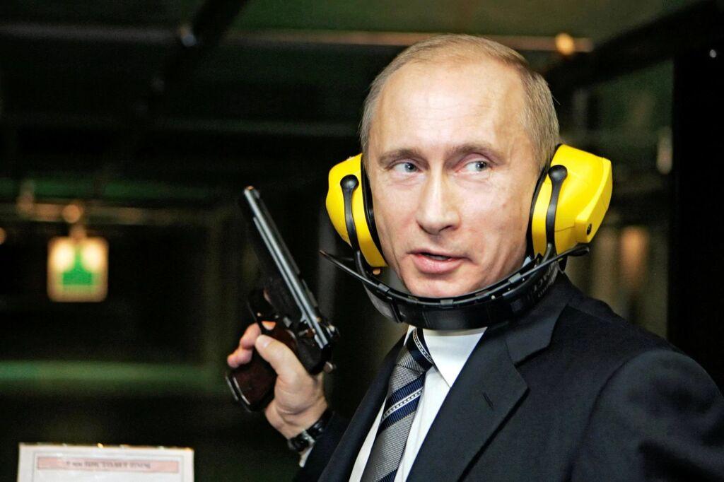 Putin ampumaradalla