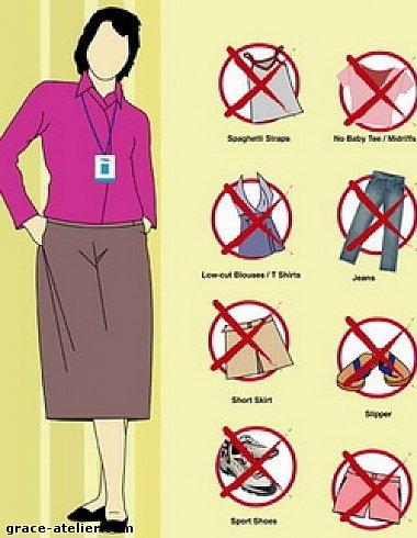 ...дресс-код и избавить женщин от колготок и чулок.