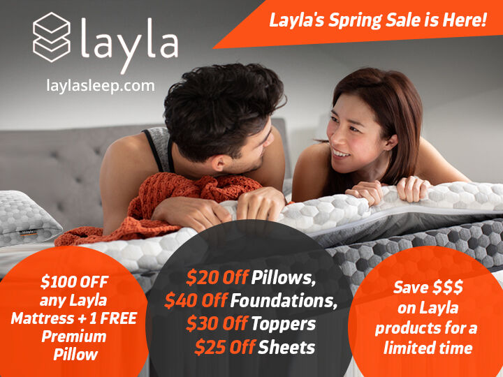 laylasleep - Get exciting discount offers on all our