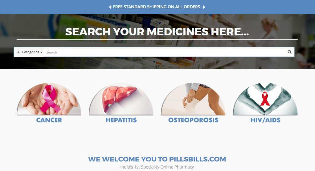 PillsBills - India's First Speciality Online Pharmacy