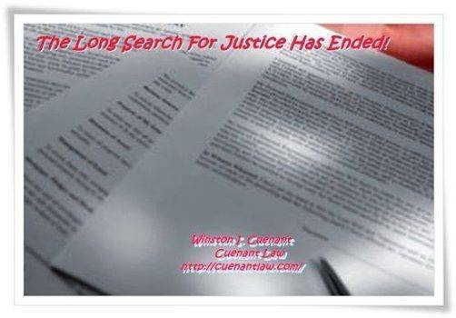 the search for justice essay