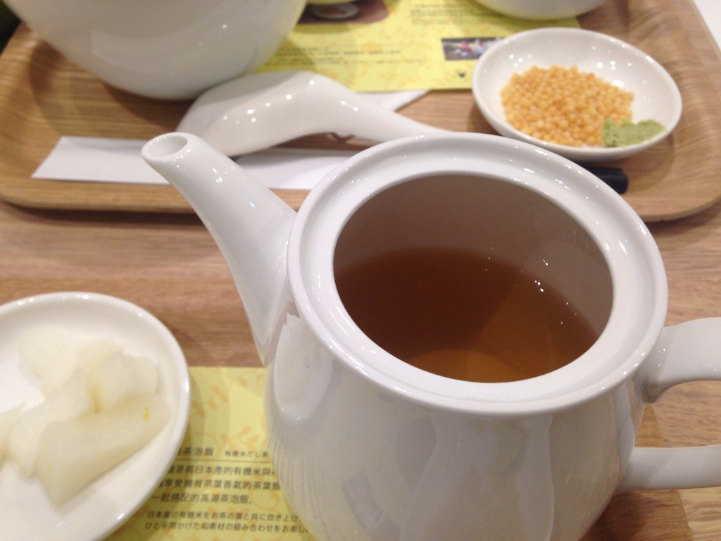 台北好吃茶泡飯 Nana's green tea