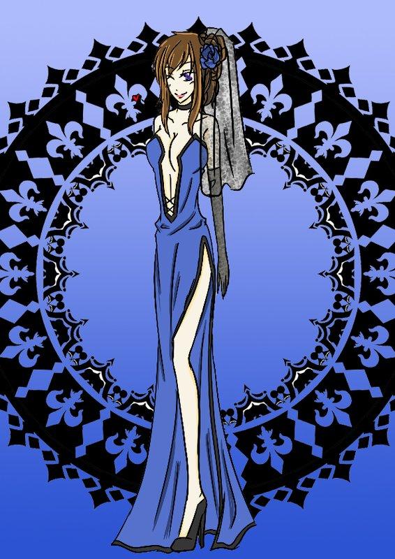 靛色新娘:夏洛特(法蘭性轉)-穩重華貴