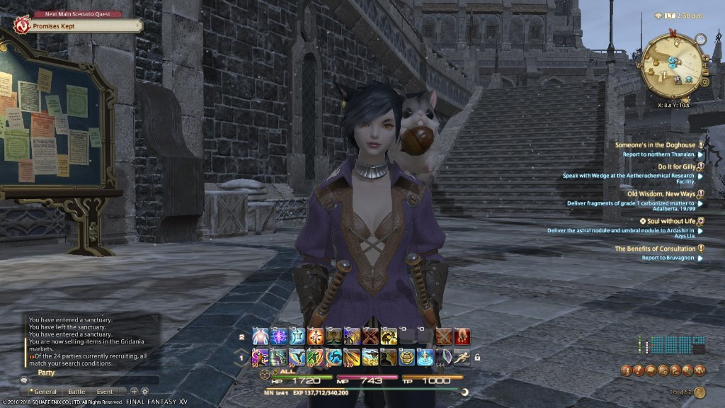 Yukie DuPants - [ffxiv] hey thancred i found your squirrel -vicky