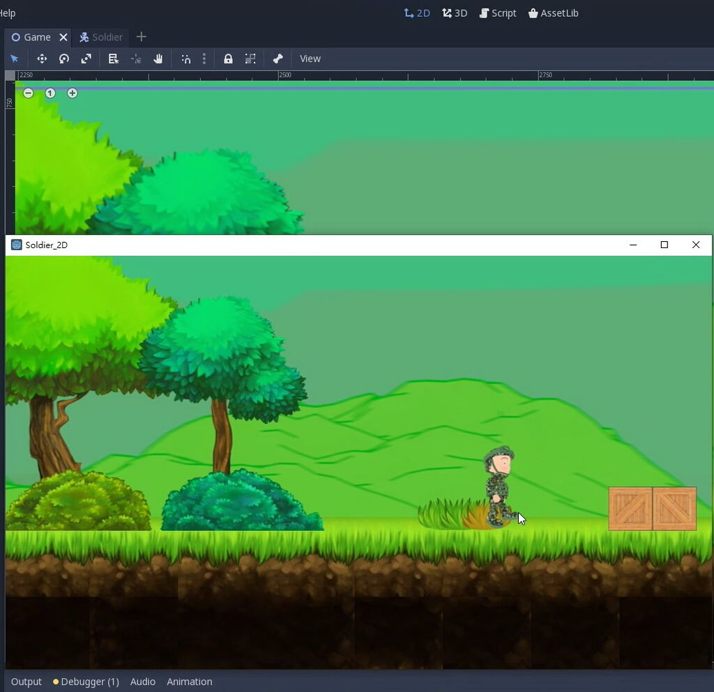 surfcast Godot Game Engine 學習: Platformer 2D Game tileset