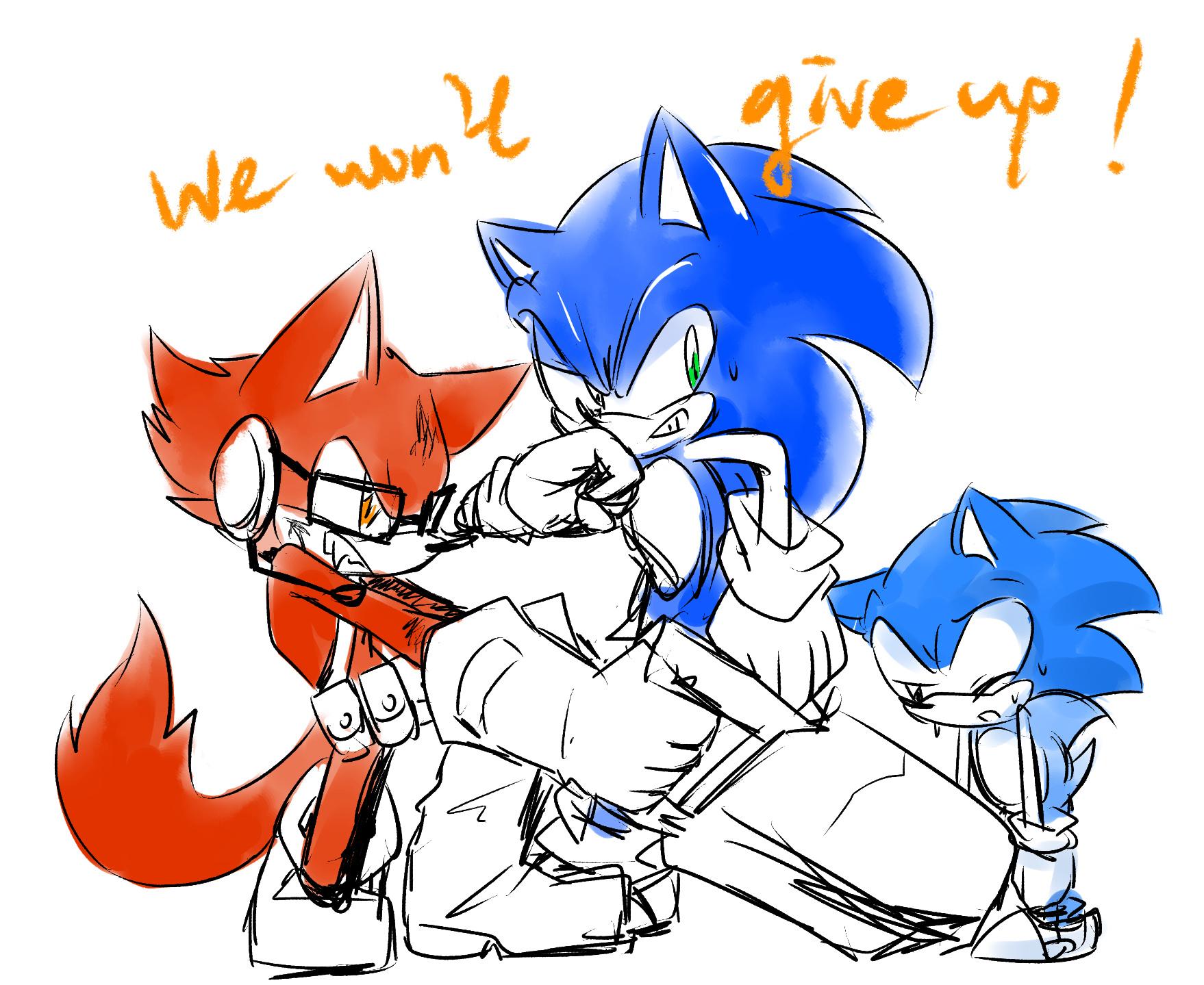 不會放棄!